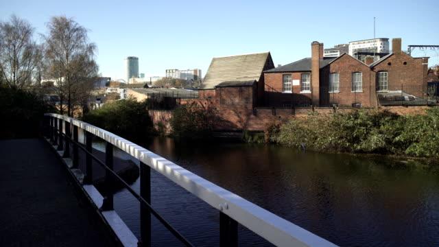 Birmingham-City-desde-el-puente-sobre-el-Canal-Digbeth-Branch-