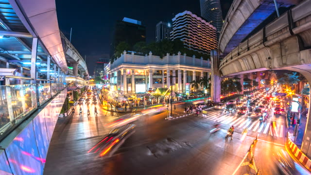 4K-Time-lapse-at-night-intersection-in-bangkok-thailand
