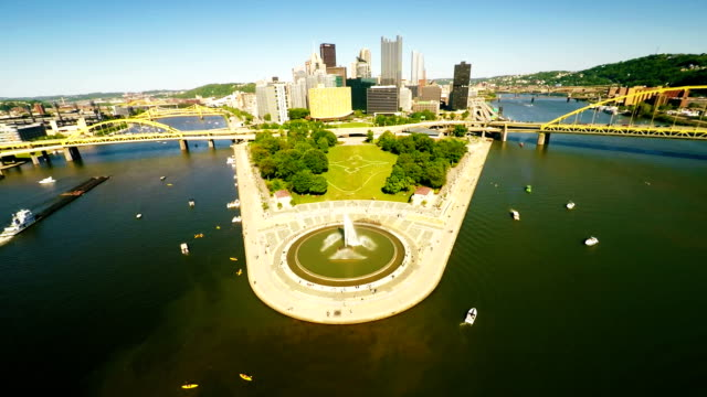 Pittsburgh-downtown-aerial-view