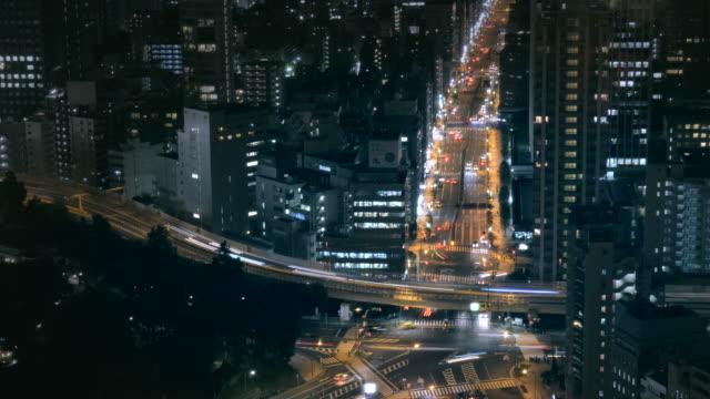 4-K-lapso-de-tiempo-Trafic-aérea-en-tokio