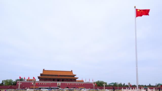 Tian\-anmen-edificio-es-un-símbolo-de-la-República-Popular-de-China