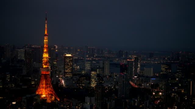 4k-video-of-Tokyo-tower