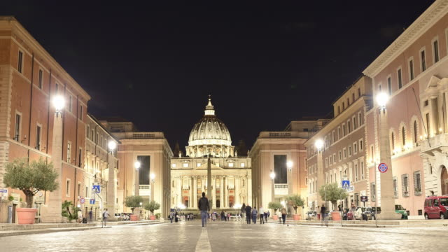 Time-lapse-video-of-Saint-Peter-Basilica-in-Rome-Italy-
