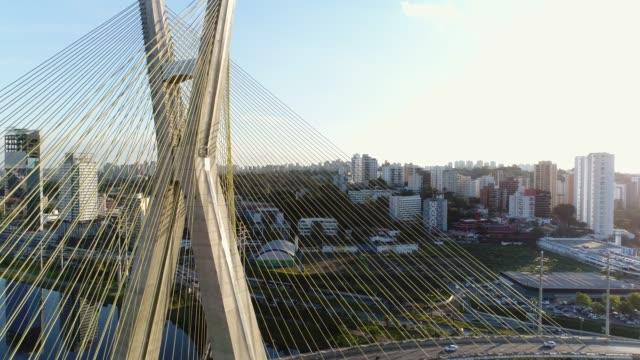Aerial-View-of-Estaiada-Bridge-in-Sao-Paulo-Brazil
