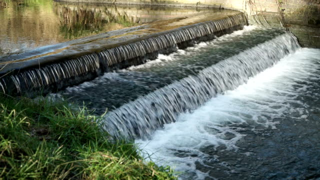 Weir-on-the-Rea-in-Canon-Hill-park-Birmingham-