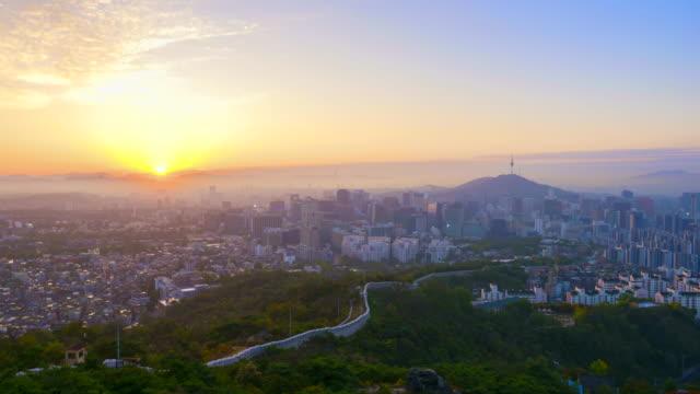 Seoul-City-from-Night-to-Day-Time-Lapse-sunrise-of-Seoul-City-Skyline-South-Korea