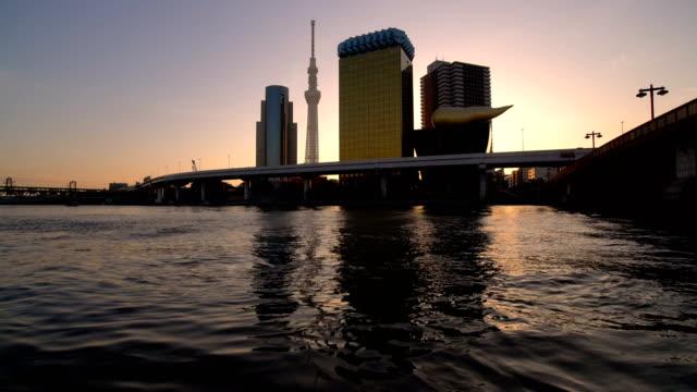 Tokyo-City-Skyline-at-Sunrise-