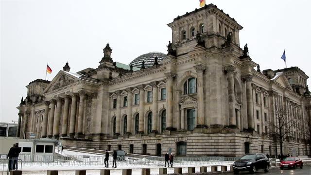 The-Reichstag-building-in-Berlin:-German-parliament-