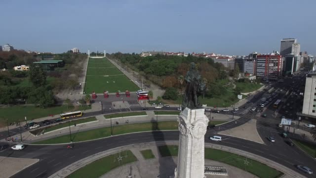 Marques-de-Pombal-Square-Lisbon-Portugal