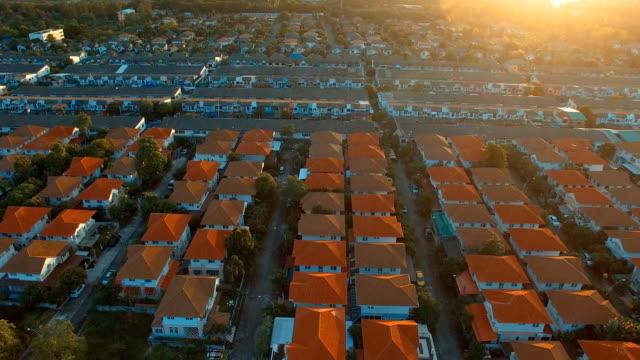 vista-aérea-de-aldea-en-bangkok-Tailandia
