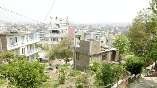 Edificios-en-la-ciudad-de-Asia-Katmandú-