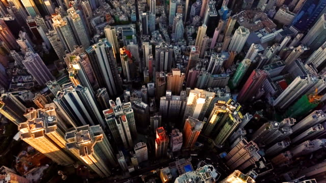 Aerial-view-of-Hong-Kong-Downtown-Financial-district-and-business-centers-in-smart-city-in-Asia-Top-view-of-skyscraper-and-high-rise-buildings-