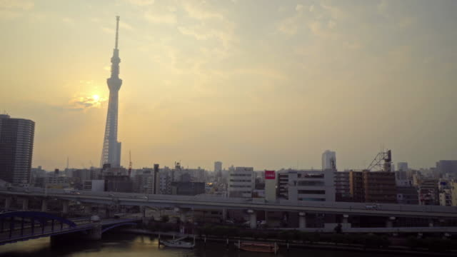 Beautiful-architecture-building-with-tokyo-sky-tree-and-city-life-in-Tokyo-Japan