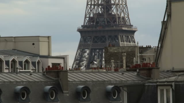 View-From-The-Rooftops-Of-Paris
