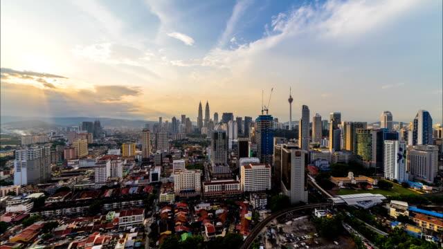 Lapso-de-tiempo-de-la-ciudad-de-Kuala-Lumpur