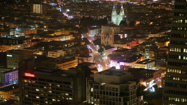 City-Skyline-Office-Buildings-at-Night---San-Francisco-California-4K