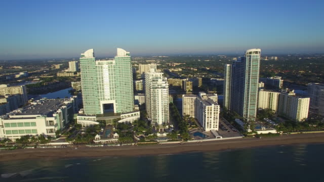 Aerial-video-of-Hallandale-Beach-FL