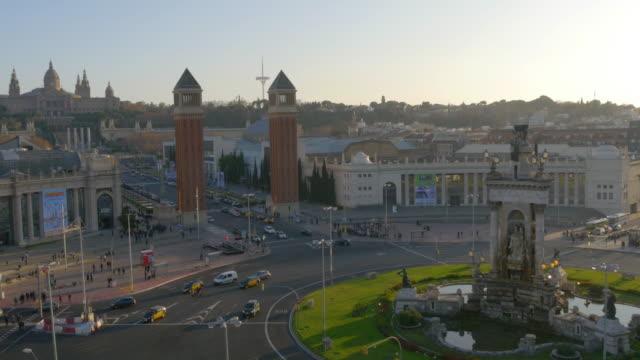 barcelona-en-el-último-piso-vista-panorámica-a-placa-easpanya-4-k-España
