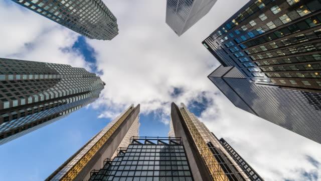 Horizonte-de-ciudad-Toronto-búsqueda-financiera-distrito-edificios-de-oficinas