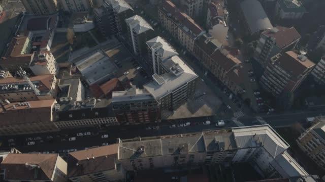 Aerial-footage-drone-view-Milan-skyline