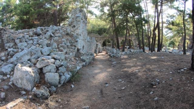 Ciudad-antigua-Phaselis-en-la-provincia-de-Antalya-Turquía-