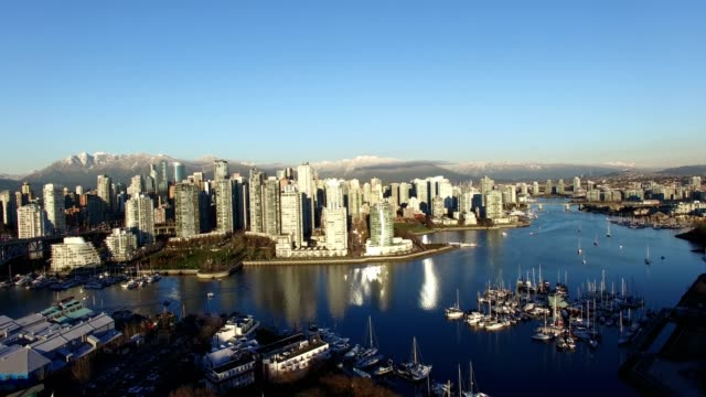 aerial-of-downtown-pan-to-English-bay