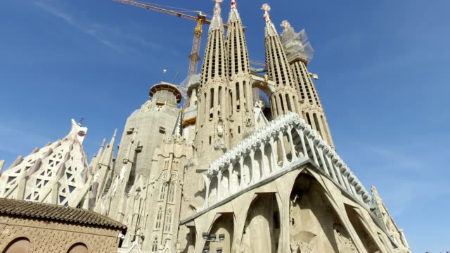 La-Sagrada-Familia---the-impressive-cathedral-designed-by-Gaudi-which-is-being-build-since-19-March-1882-and-is-not-finished-yet-December-14-2009-in-Barcelona-Spain