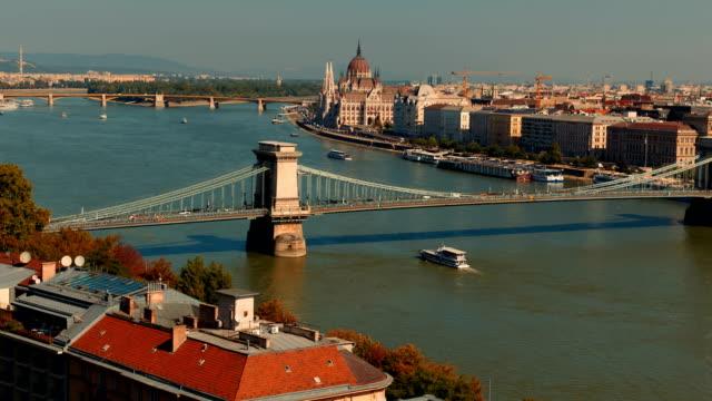 Puente-de-las-cadenas-Budapest-Hungría