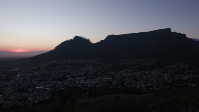 Time-lapse-of-the-sunrise-and-Table-mountain-Cape-Town-South-Africa