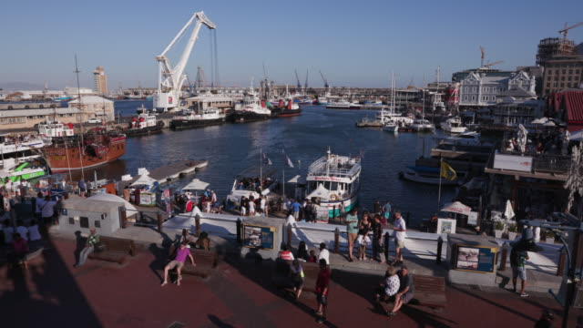 Panoramic-view-of-the-famous-Victoria-and-alfred-waterfront-Cape-Town