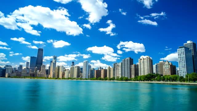 Chicago-horizonte-tiempo-lapso-4-1080p-K-playa
