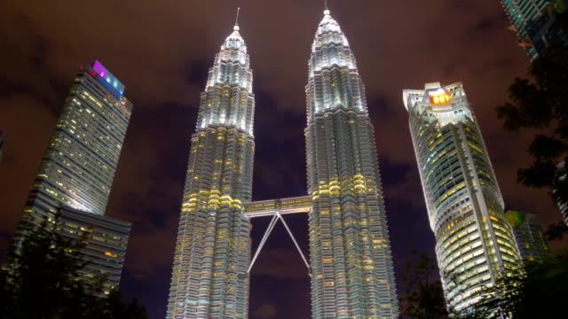 Rotación-del-centro-de-la-ciudad-de-Kuala-Lumpur-Timelapse