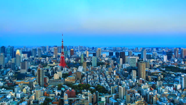 4K-Time-lapse-view-of-Tokyo-city-with-Tokyo-Tower-in-japan