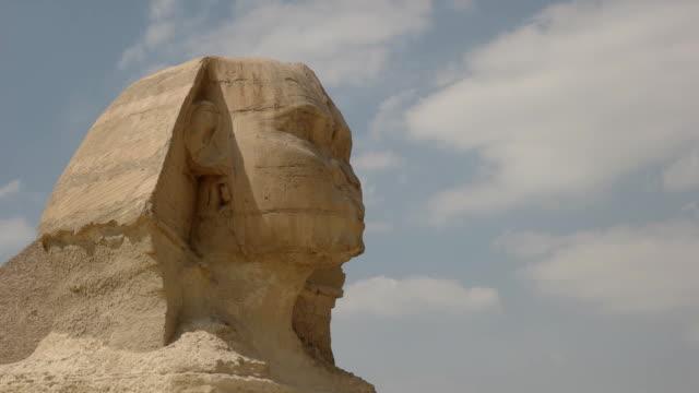 """Nahaufnahme-von-der-Sphinx-von-Gizeh-bei-Kairo-Ã""""gypten"""