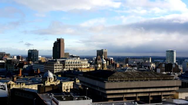 Edificios-de-la-ciudad-de-Birmingham-Inglaterra-