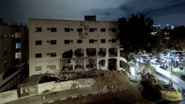 Demolition-building-time-lapse