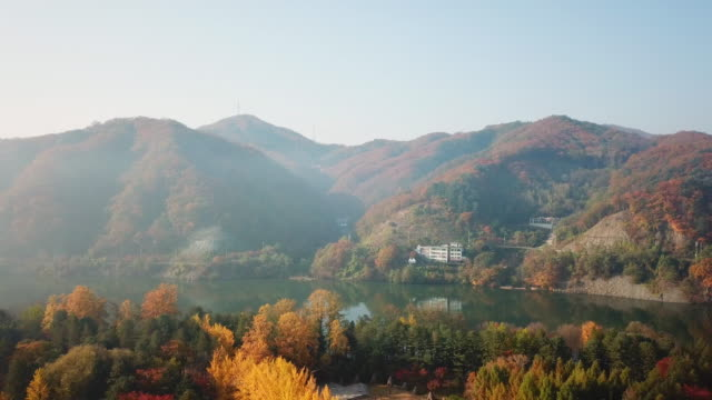 Otoño-de-vista-aérea-de-la-isla-de-Nami-Seúl-Corea-del-sur