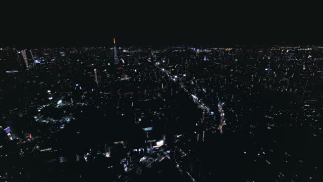 4K-aerial-timelapse-of-Tokyo-by-Night