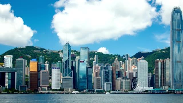Puerto-de-Victoria-y-la-isla-de-Hong-Kong-horizonte---Hyperlapse