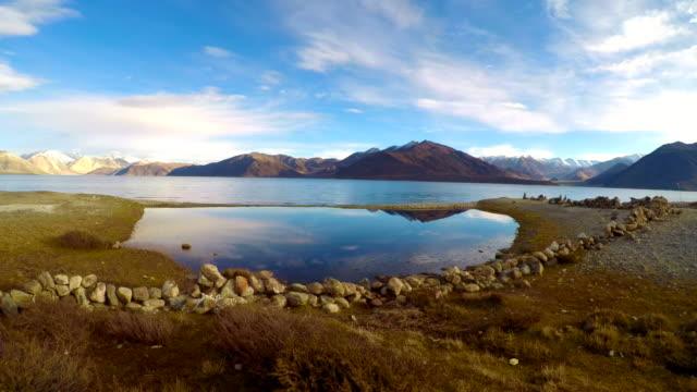 Time-Lapse-Pangong-Lake-Leh-Ladakh-India