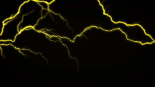 4k-Yellow-Lighting-Energy-Sparking-Seamless-Loop-
