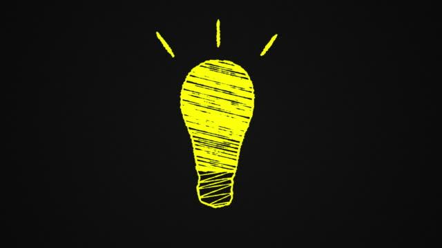 glowing-lightbulb-drawn-on-a-blackboard-idea-hand-drawn-animation-4K