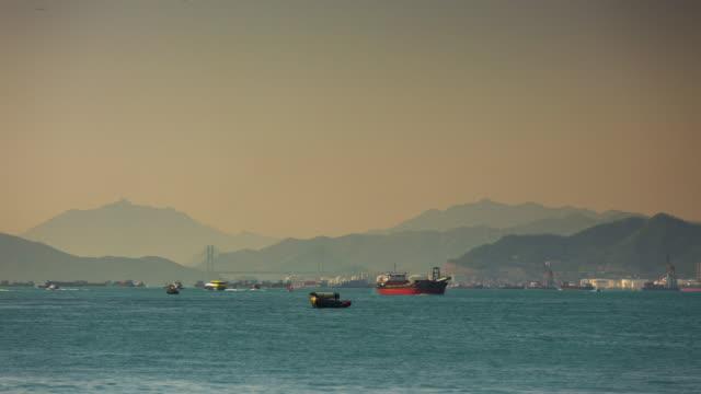 Hong-kong-día-luz-agua-lateral-4-lapso-de-tiempo-k-de-china