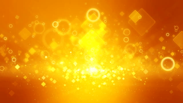 Fondo-color-oro-naranja-cálido-movimiento-animadas-plazas-Rayo-de-luz-rayo-efecto-UHD-4k-