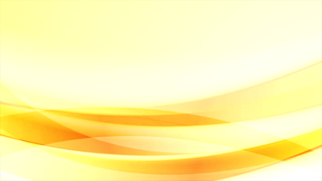 Orange-abstract-waves-video-animation