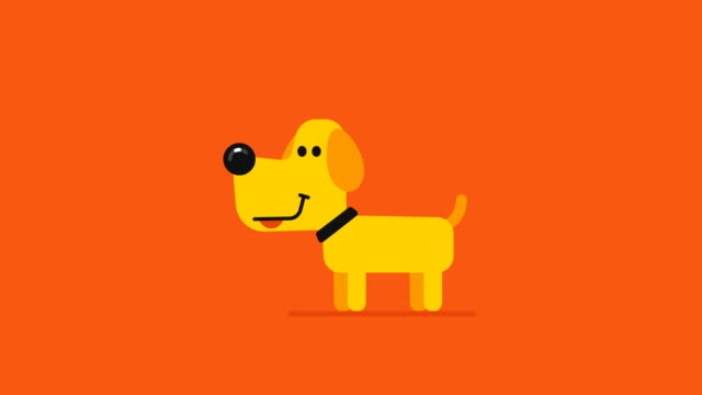 Concept-happy-new-year-yellow-dog-and-drone