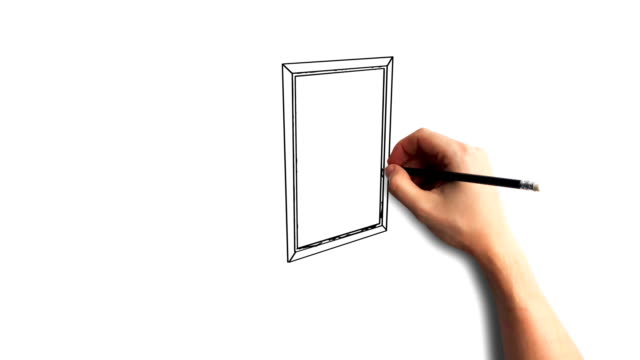 Whiteboard-Stop-Motion-Style-Animation-Hand-drawing-the-safe