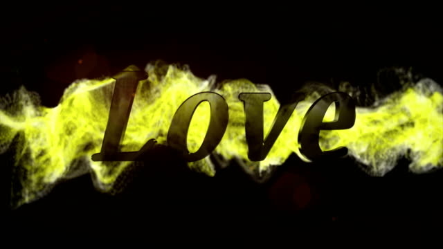 LOVE-Text-in-Particles-Rendering-Animation-Background