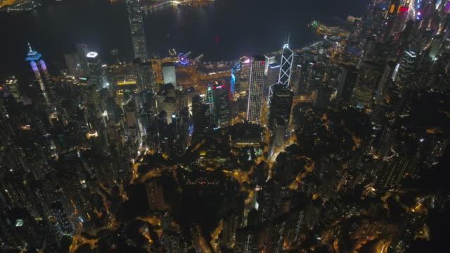 night-light-hong-kong-downtown-bay-aerial-panorama-4k-china