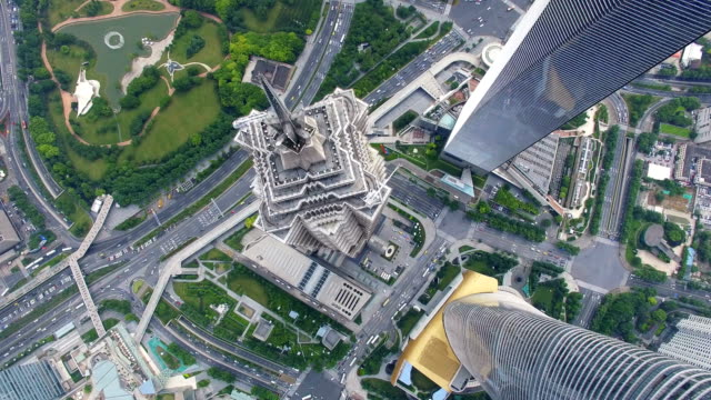 Aerial-View-of-Lujiazui-business-center-Shanghai-China